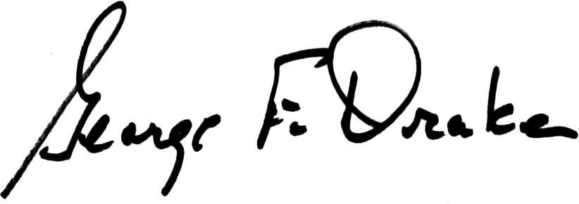 George Drake Signature